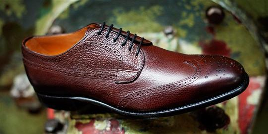 finsbury balmoral brogue mahogany 011 Custom The different formalities of shoes