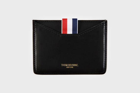 thom browne leather wallet Thom Browne Leather Wallet