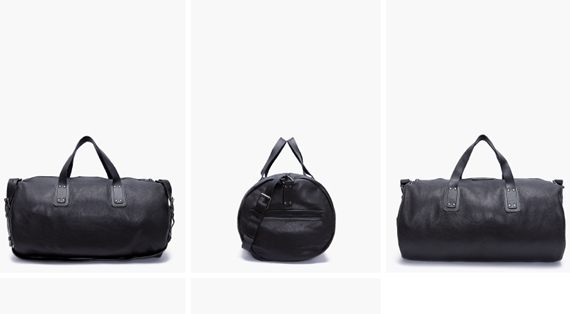 leather duffle 01 Simple Leather Duffle, Marc by Marc Jacobs